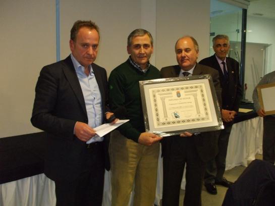 Diploma de honor de la Federación C. Gallega