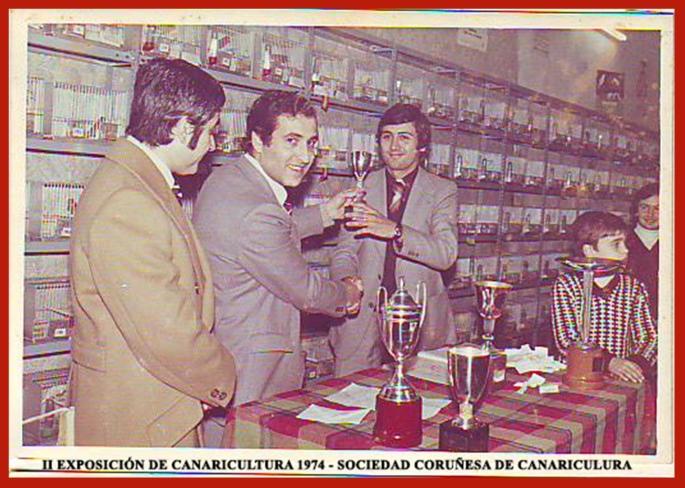 II Expo Canaricultura 1974 (Sociedad Coruñesa de Canaricultrua)